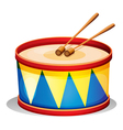 A big toy drum vector image