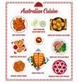 australian cuisine menu australia food