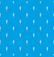 barley spike pattern seamless blue vector image vector image