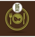 big sale kitchen food healthy vector image vector image