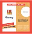 carrots farm company brochure template busienss vector image
