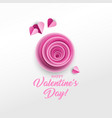 happy valentine s day greeting card design vector image vector image