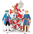 Loudon County Coat-of-Arms vector image vector image
