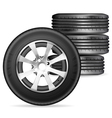 Tires vector image vector image