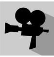 vintage cinema sign vector image vector image