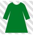 Woman Dress Icon vector image