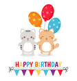 cute cats cute cats vector image