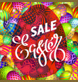 easter egg sale banner background template 23 vector image vector image