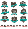 Grunge Premium Quality Labels vector image vector image