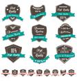 Grunge Premium Quality Labels vector image