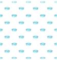 Pan pattern cartoon style vector image