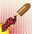 Army buller design vector image