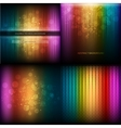 Multicolor musical equalizer set vector image