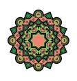 Beautiful Deco Colored Mandala Patterned vector image