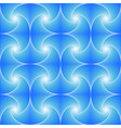 blue seamless pattern created whirls vector image