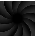 camera shutter photography background aperture vector image vector image