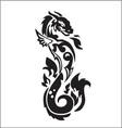 Dragon fire vector image vector image
