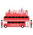London England Travel Landmarks vector image