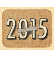 New years 2015 design vector image vector image