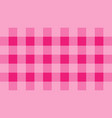 pink checkered pattern arranged in alternating col vector image