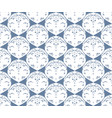 symmetrical pattern vector image vector image