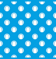 black and white tennis ball pattern seamless blue vector image vector image