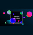 colored balls vector image vector image