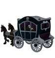 Halloween Carriage vector image vector image