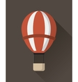 Hot air balloon icon design vector image vector image