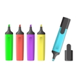 image of markers vector image vector image