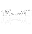 london skyline vector image vector image