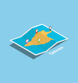 tehran iran province explore maps with isometric vector image
