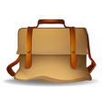 Brown bag vector image vector image