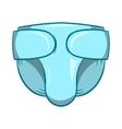 Diaper icon cartoon style vector image vector image