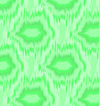 pattern geometric ikat vector image vector image