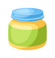 stylized jar bapuree vector image vector image