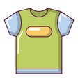 child t shirt icon cartoon style vector image