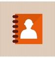 agend icon design vector image