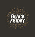 black friday sale discount low price shopping vector image vector image