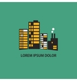 buildings icon vector image vector image