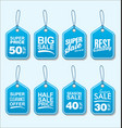 collection modern sale stickers and tags 1 vector image vector image