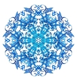 ornament beautiful background with mandala vector image vector image