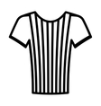 referee shirt uniform icon vector image vector image