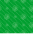 seamless wallpaper green polka dot background with vector image vector image
