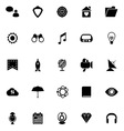 SEO icons on white background vector image