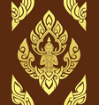 thai traditional art thai art background thai vector image