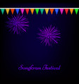 thailand new year background vector image