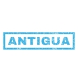 Antigua Rubber Stamp vector image vector image