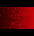 banner red sequins background mosaic or sequins vector image