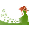 beautiful violinist playing violin isolated on vector image